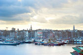 Amsterdam cityscape — Stock Photo