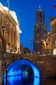 Utrecht at twilight — Stock Photo