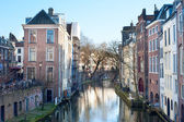 Utrecht street — Stock Photo