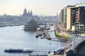 Amsterdam skyline — Stock Photo