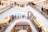 Shopping mall in Kuala Lumpur — Stock Photo