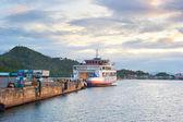 Ferry boat, Philippines — Stock Photo