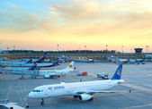 Sheremetyevo International Airport — Stock Photo