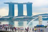 Merlion, Singapore — Stock Photo