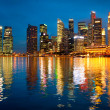 Skyline of Singapore — Stock Photo