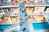 Marina Bay shopping plaza — Stock Photo