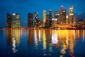 Skyline i singapore — Stockfoto