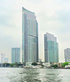 Skyscrapers in Bangkok — Foto Stock