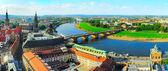 Dresden skyline — Stock Photo