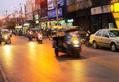 Tráfego em chiang mai — Fotografia Stock