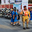 Policeman at work in Chiang Mai — Stock Photo #46673853