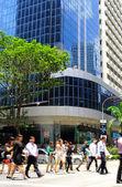 Singapore business life — Stock Photo
