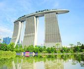 Marina Bay in Singapore — Stock Photo