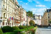 Karlovy Vary architecture — Foto de Stock