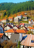 Village is mountains, Serbia — Stock Photo