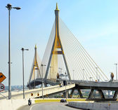 Ring Road Bridge, Bangkok — Stock Photo
