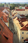 Regensburg Old Town — Stock Photo
