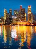 Singapur i̇ş merkezi — Stok fotoğraf