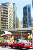 Taxi Hong Kong — Stock Photo