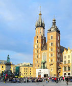 Market Square in Krakow — Stock Photo