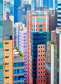 Hong Kong density — Stock Photo