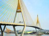 Ponte industrial anel viário — Foto Stock