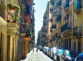 Sreet in old quarter of Barcelona — Stock Photo