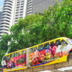Monorail train, Kuala Lumpur — Stock Photo #50585459