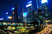 Evening Hong Kong — Stock Photo