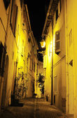 Old Town street of Cannes — Stock Photo