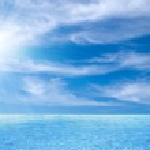 Thailand sea and perfect sky — Stock Photo