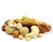Mixed nuts — Stockfoto