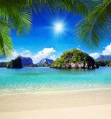 Mar tropical — Foto de Stock
