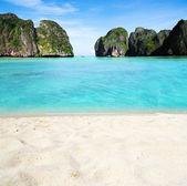 Paisaje de isla tropical — Foto de Stock