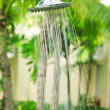Refreshing shower — Foto de Stock
