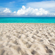 Beach and tropical sea - Foto de Stock