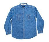 Blue man's shirt — Stock Photo