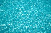 Zwembad water — Stockfoto