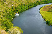 Chavon River — Stock Photo