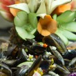 Salad mussel — Stock Photo #23987043