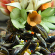 Salad mussel - Stock Photo