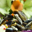 Salad mussel — Stock Photo #23987059