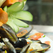 Stock Photo: Salad mussel