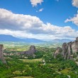 Rock in Meteora, Greece - Stock Photo