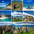 Stock Photo: Collage of Greece