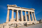 Parthenon on the Acropolis in Athens — Stock Photo