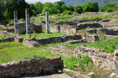 Ruins in Dion, Greece. — Foto Stock
