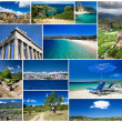 Collage of Greece — Foto de Stock