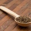 Stock Photo: Cumin seeds