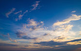 Sky with clouds — Foto Stock